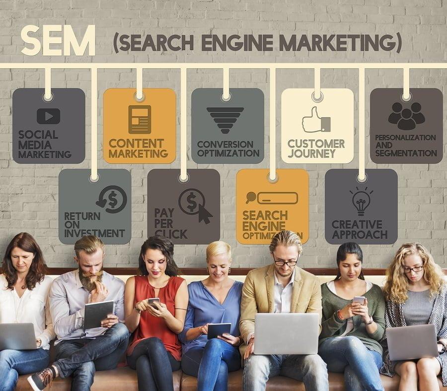 agence de communication digitale SEM